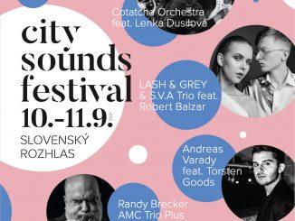 City Sounds má kompletný program, zahrá na ňom aj Andreas Varady.
