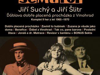 Pri príležitosti deväťdesiatky Jiřího Suchého poteší Supraphon fanúšikov Divadla Semafor.Vydá komplet 15CD, ktorý predstaví hry z konca zlatých 60. rokov.