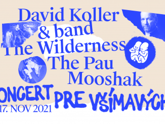 David Koller & Band, The Pau, The Wilderness a Mooshak vystúpia na Koncerte pre všímavých v Novej Cvernovke