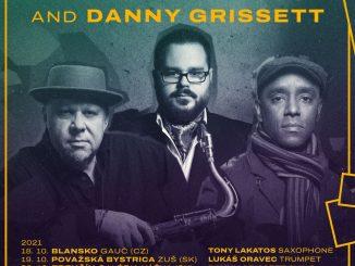 LUKÁŠ ORAVEC QUARTET feat TONY LAKATOS and DANNY GRISSETT na turné.