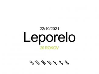 Leporelo oslavuje 20 rokov svojich akcií.