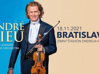 Koncert kráľa valčíkov André Rieu sa 18. novembra 2021 uskutoční.